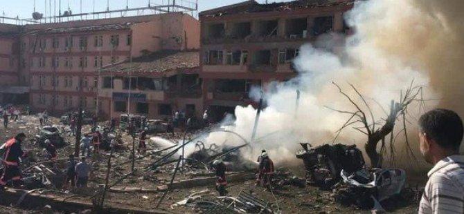 Elazığ'da şiddetli patlama!