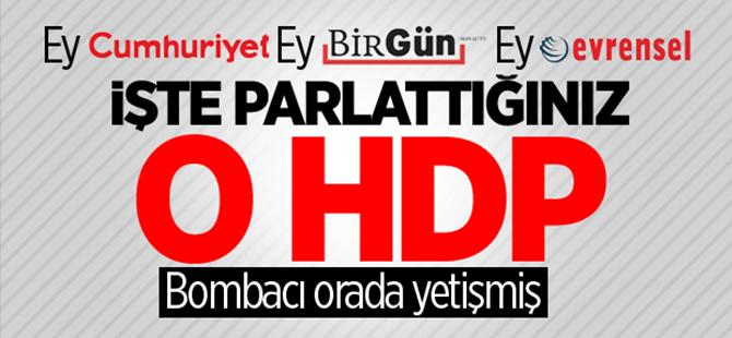 Van bombacısı eğitimini HDP'den almış