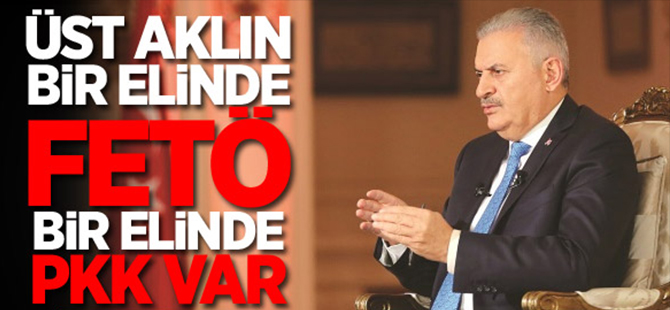 'Üst aklın bir elinde FETÖ bir elinde PKK var'