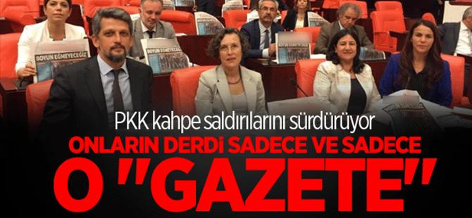 HDP'liler tek derdi 'Özgür Gündem'