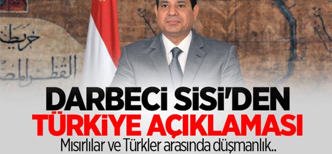Sisi'den Türkiye açıklaması
