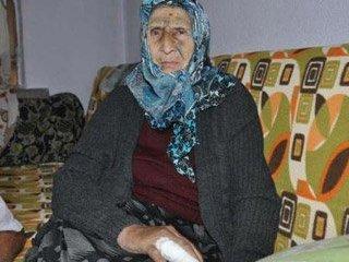 90 yaşındaki kadını gasp ettiler