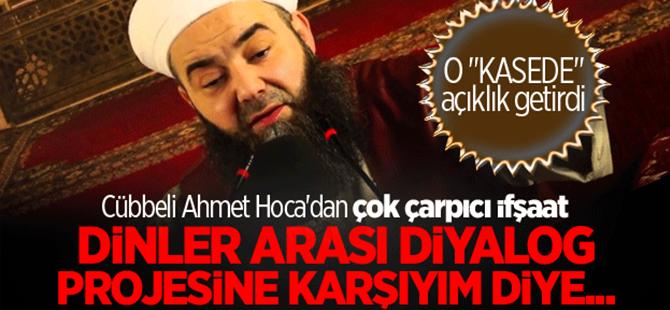 Cübbeli Ahmet Hoca'dan çarpıcı FETÖ ifşaatı