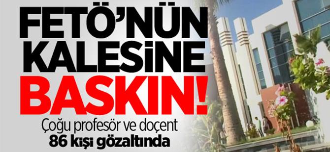 Gediz Üniversitesi'ne baskın!
