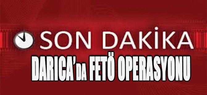 Darıca'da FETÖ Operasyonu, Çok Sayıda Gözaltı Var