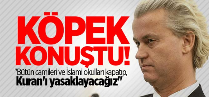 Hollanda'da aşırı sağcı Wilders'ten skandal sözler