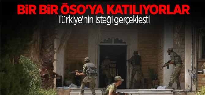 Araplar ve Türkmenler ÖSO'ya katılmaya başladı