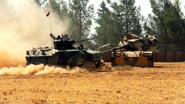 Cerablus'ta Türk Tankı Vuruldu,1 Şehit