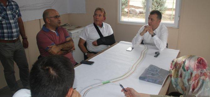 Genel Sekreter Büyükakın, örnek projeleri yerinde inceledi