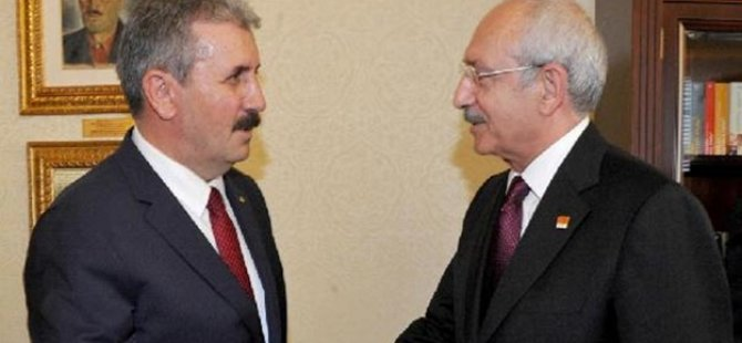 Kılıçdaroğlu, Destici ile bir araya geldi