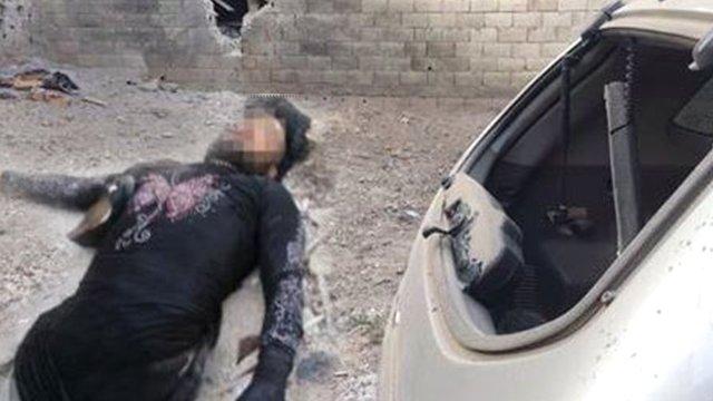 Kadın Kılığına Giren IŞİD'li Öldürüldü