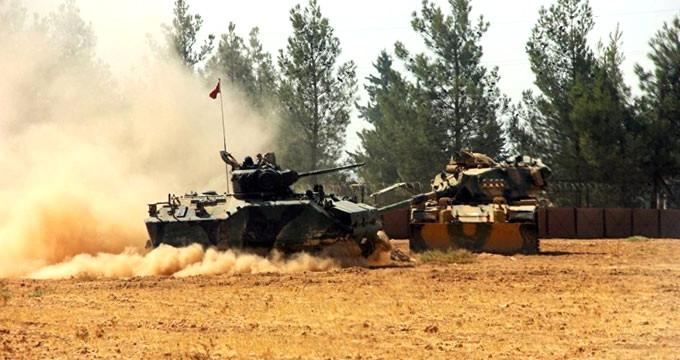 1 Tankımız Vuruldu, 3 Asker Yaralı