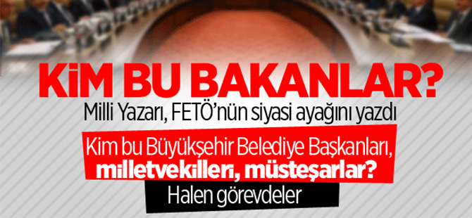 Milli Gazete'den Ahmet Yavuz FETÖ'nün siyasi ayağını yazdı