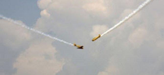 ABD'de iki uçak havada çarpıştı