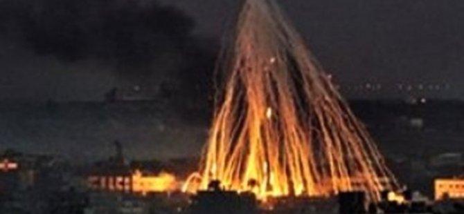 İdlib'e yasaklı bomba atıldı