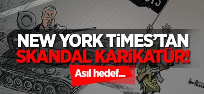 New York Times skandal Cerablus karikatürü!