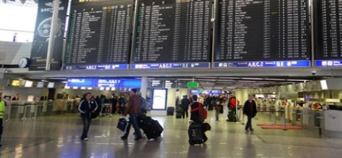 Viyana'da Türk yolcular mahsur bırakıldı