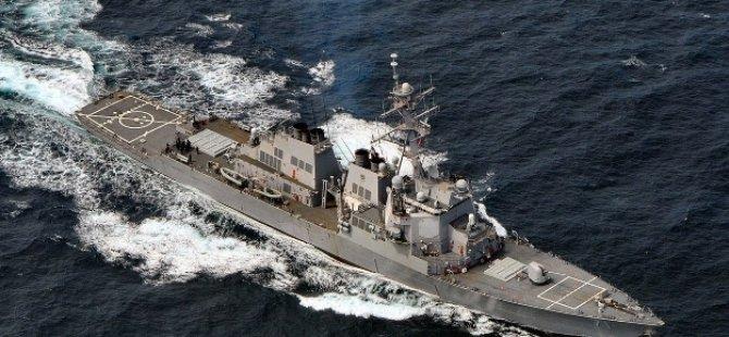 Akdeniz'de Türk savaş gemileri o gemiyi kovaladı