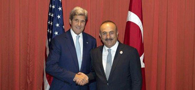Çavuşoğlu Çin'de Kerry ile görüştü, FETÖ için…