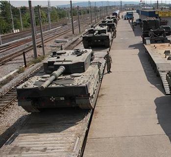 Kocaeli'den 13 tank yola çıktı