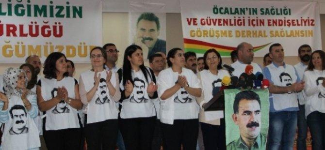 HDP Milletvekilleri, teröristbaşı için aç kalacak