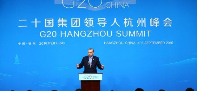 Cumhurbaşkanı Erdoğan'dan ateşkes açıklaması