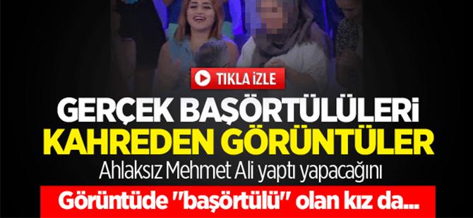 """Mehmet Ali ile """"başörtülü"""" izleyicisi"""