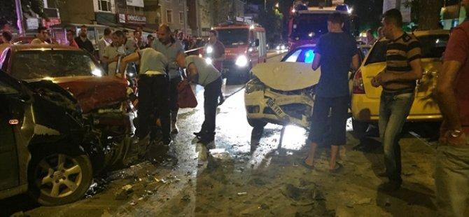 Ankara'da feci kaza: 7 yaralı