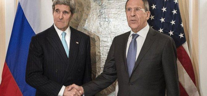 Lavrov - Kerry görüşmesi Suriye'de ateşkes ilan edildi