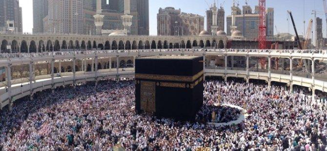 Hac izni olmayanlar Mekke'ye giremedi