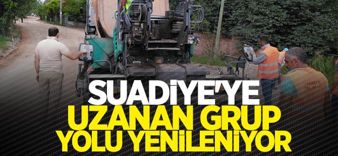 Derbent'ten Suadiye'ye uzanan grup yolu yenileniyor