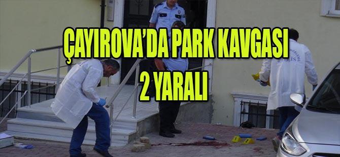 ÇAYIROVA'DA PARK YERİ İÇİN KAFASINA SIKTI