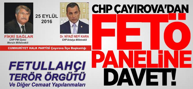 CHP Çayırova'dan FETÖ Paneline davet