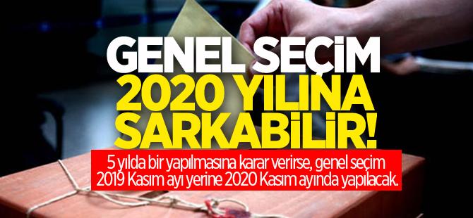 Genel seçim 2020'ye sarkabilir