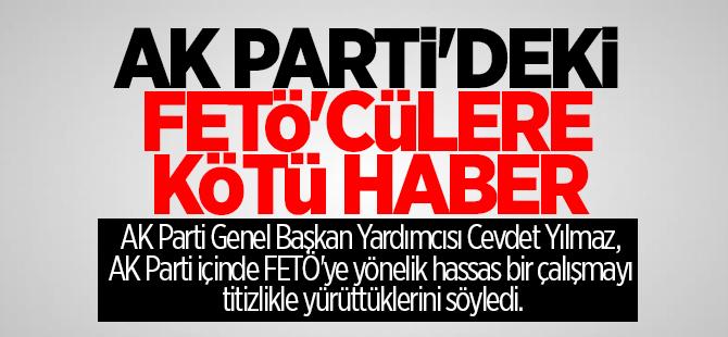 AK Parti içindeki FETÖ'cülere kötü haber