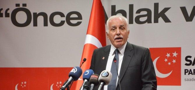 Saadet Lideri Kamalak: Yeni bir hamle, yeni bir şahlanış dönemine giriyoruz