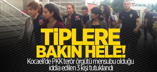 Kocaeli'de 3 PKK'lı tutuklandı