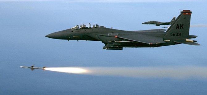 ABD'ye ait savaş uçağı Japonya'da düştü