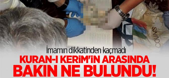Kuran-ı Kerim'in arasında 1 dolar bulundu
