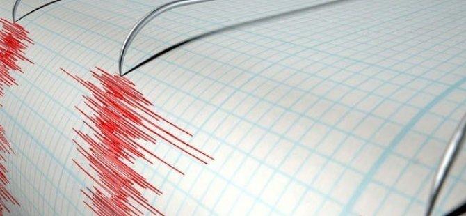 Şiddetli deprem! İstanbul'da hissedildi