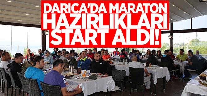 Darıca'da maraton hazırlıkları start aldı