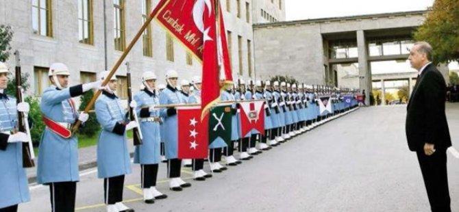 Erdoğan'ı 160 seçilmiş asker Meclis açılışında karşılayacak