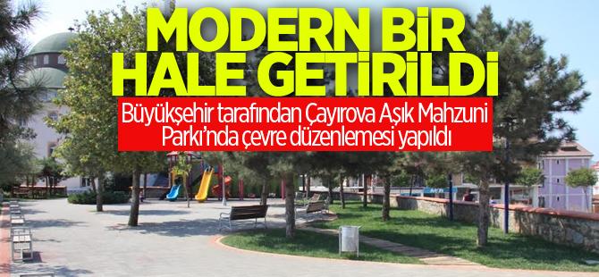 Çayırova Aşık Mahzuni Şerif Parkı modern bir hale getirildi