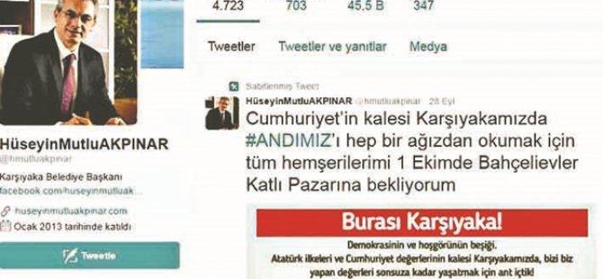 CHP'li başkan kaşıyor