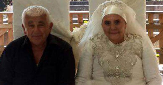 70 yaşında düğün yaptı
