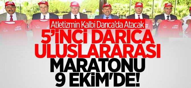 5'inci Darıca Uluslararası Maratonu 9 Ekim'de
