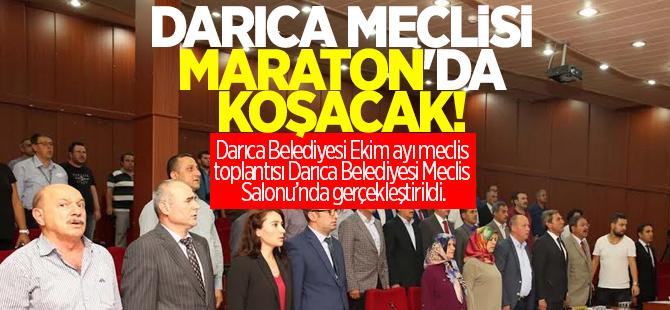 Darıca Meclisi Maraton'da koşacak