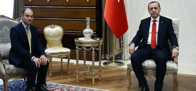 Cumhurbaşkanı Erdoğan, o ismi Külliye'de ağırladı