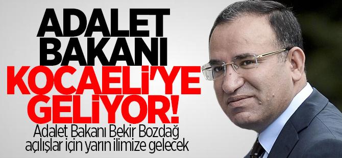 Adalet Bakanı Kocaeli'ye geliyor