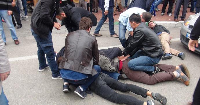 10 Ekim gösterisine polis müdahalesi